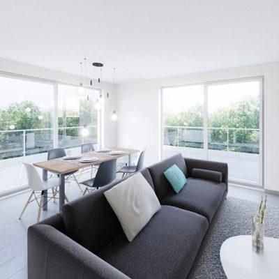 Déclinés du 2 au 5 pièces, les appartements neufs de la résidence L'Influence à Sierentz (68510) bénéficient de pièces à vivre spacieuses et lumineuses ainsi que de prestations de standing.