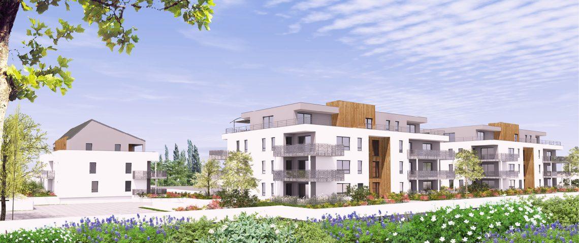 L'influence c'est des appartements neufs du F2 au F5 en attique dans une résidence moderne proche du centre-ville de Sierentz (68510) et de toutes commodités.