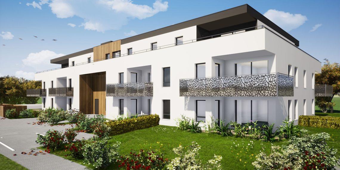 Découvrez en avant-première les appartements neufs du 2 au 5 pièces de la résidence L'Orée du Bois à Saint-Louis Neuweg (68300).